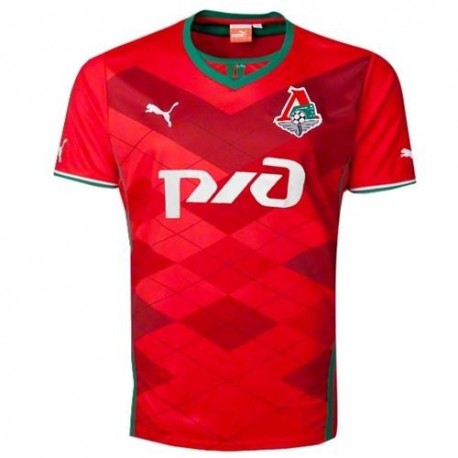 Lokomotiv Moscow Soccer Jersey (Moscow) 2013/14 Home-Puma