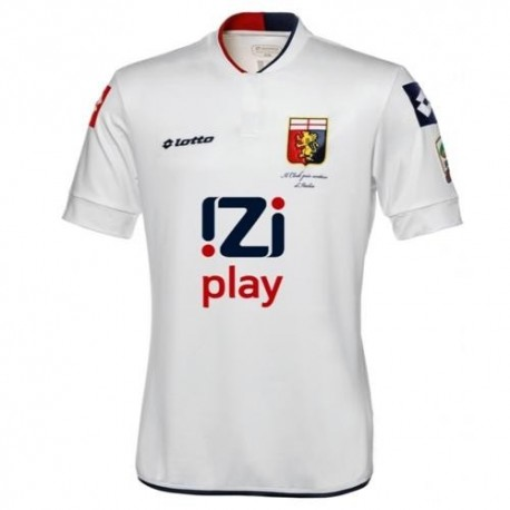 Genoa CFC Away Soccer Jersey 2013/14-Lotto