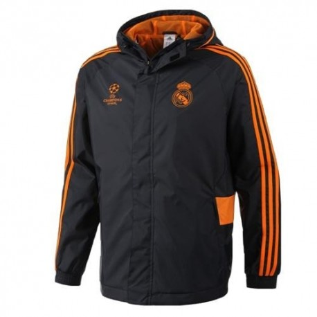 Real Madrid CF All Weather Rain Jacket 2013/14 Champions League Adidas