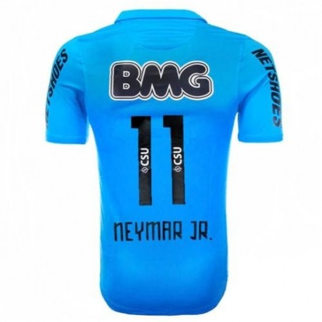 Third 2012 Centenary Jersey Santos Neymar Jr. 11 Player Issue-Nike