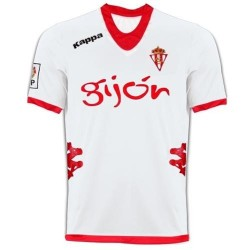 Football Jersey Sporting Gijon Away 2012/13-Kappa