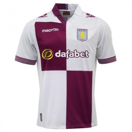 Aston Villa Away Football Jersey 2013/14-Macron