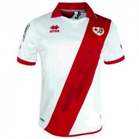 Rayo Vallecano Soccer Jersey Home 2013/14-Errea