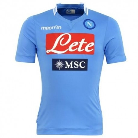 SSC Napoli Football Jersey 2013/14 Home-Macron