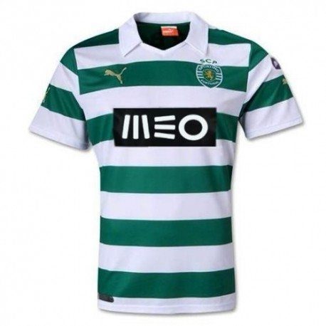 Sporting Lisbon home football shirt 2013/14 - Puma
