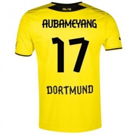 BVB Borussia Dortmund Home shirt 2013/14 Aubameyang 17-Puma