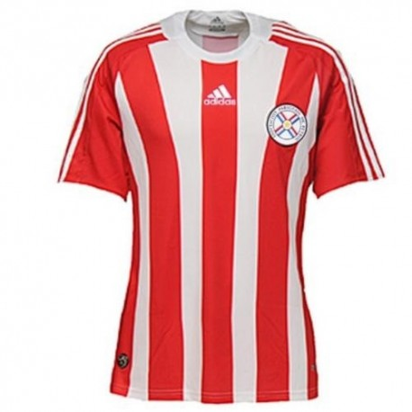 Football Paraguay National Jersey 2008/09 Home Adidas
