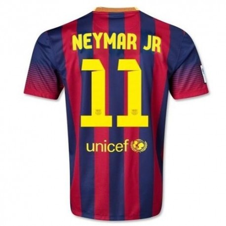 FC Barcelona Home Football Jersey 2013/14 Neymar Jr. 11-Nike