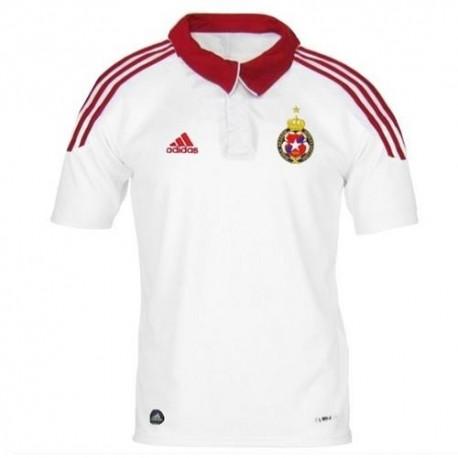 Football Jersey Wisla Cracow (Krakow) Away 2012-Adidas