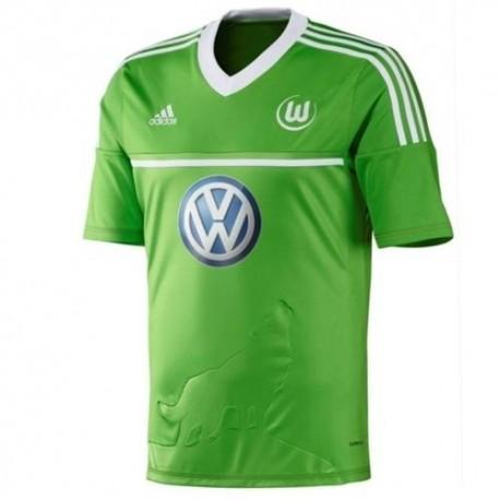 Wolfsburg Soccer Jersey Home 2012/13-Adidas