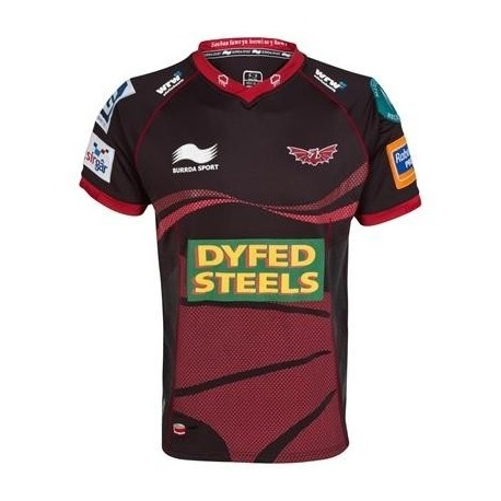 Llanelli Scarlets Rugby jersey 2012/13 Away