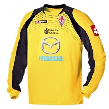 AC Fiorentina goalkeeper Jersey 2011/12 Away shirt-Lotto
