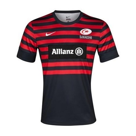 Saracens Rugby jersey 2012/14 Home