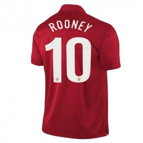 National Jersey England Away 2013/14 Rooney 10-Nike