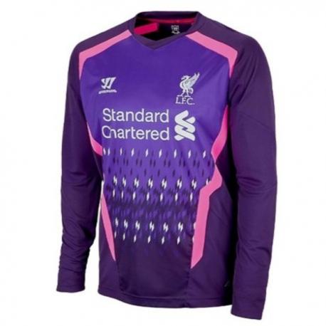 Liverpool Fc goalkeeper Jersey Away 2013/14-Warrior