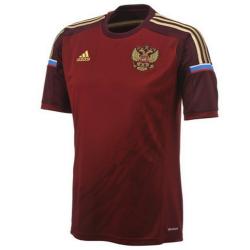 Russia national team Home football shirt 2014/15 - Adidas