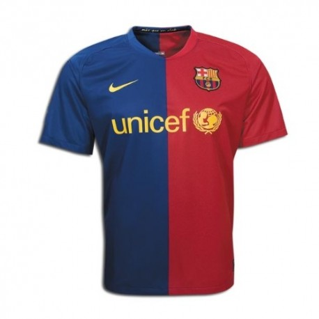 FC Barcelona Home Jersey 08/09 Player race Issue by Nike