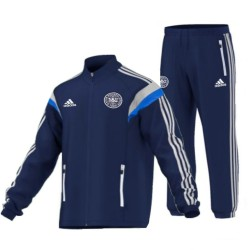 Denmark National Team official presentation Tracksuit 2014 - Adidas