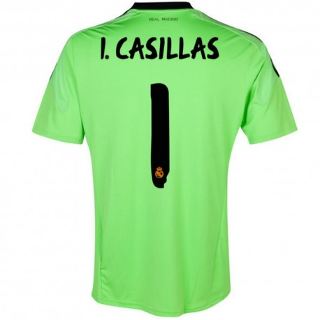 Real Madrid CF goalkeeper Jersey Away 2013/14 Casillas 1 - Adidas