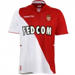 As Monaco Soccer Jersey 2013/14 Home by Macron