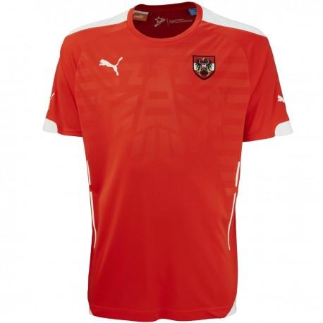 Austria Home soccer jersey 2014/15 - Puma
