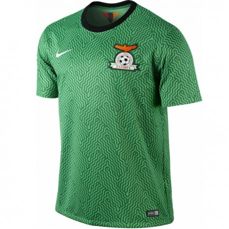 Zambia national team Home football shirt 2014/15 - Nike