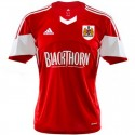 Bristol City FC Home soccer jersey 2013/14 - Adidas