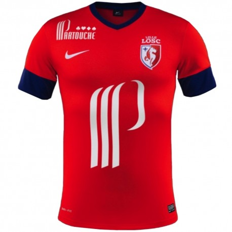 Football Jersey LOSC Lille Home 2013/14-Nike