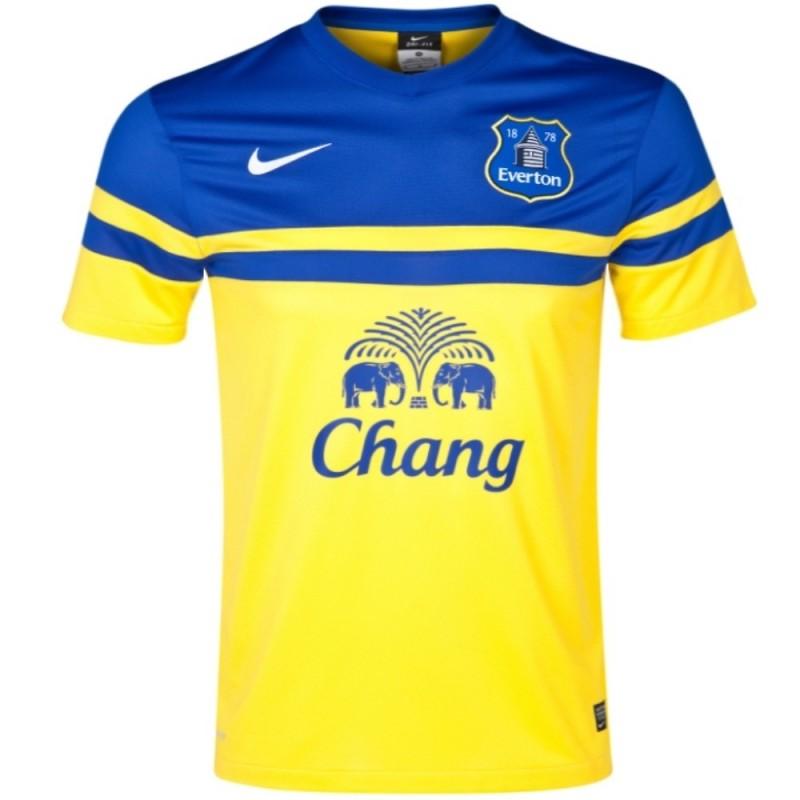 Maillot de foot Everton FC exterieur 201314 Nike