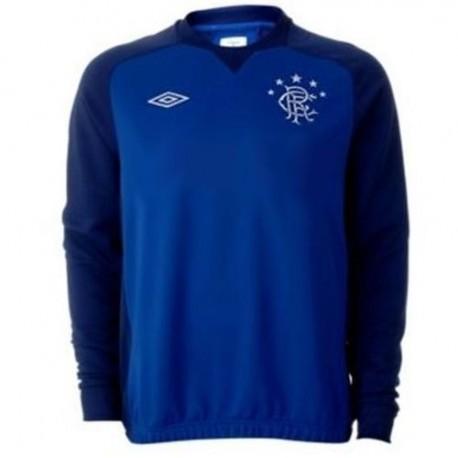 Glasgow Rangers training sweat top 2012/13-Umbro