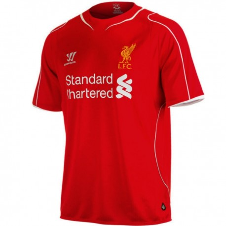 Liverpool FC Home soccer jersey 2014/15 - Warrior