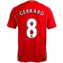 Liverpool FC Home soccer jersey 2014/15 Gerrard 8 - Warrior