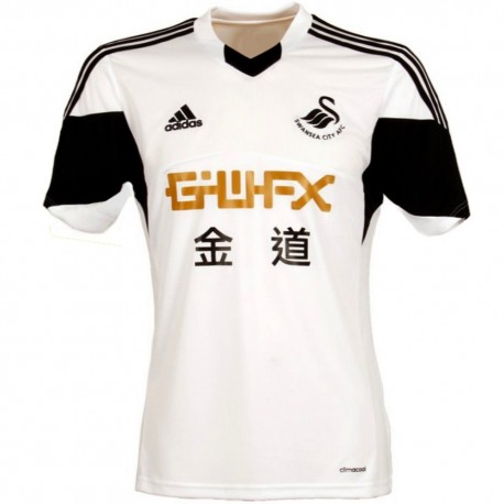 Swansea City AFC Home soccer jersey 2013/14 - Adidas