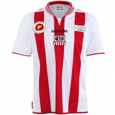 AC Ajaccio (France) Home football shirt 2013/14 - Macron
