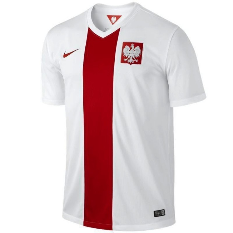 Poland Home Football Shirt 2014 15 Nike Sportingplus