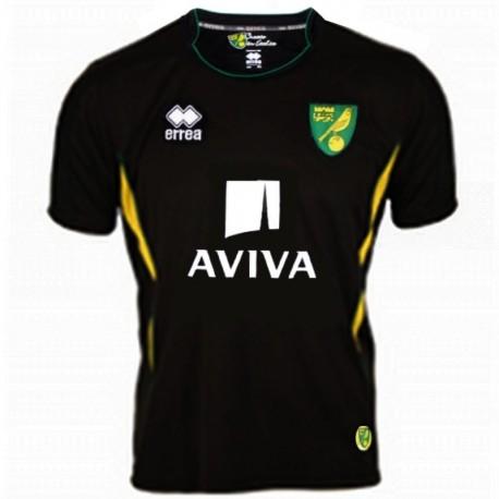 Norwich City FC Away soccer jersey 2012/13 - Errea