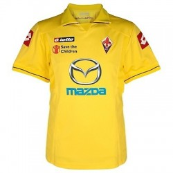 Fiorentina Soccer Jersey 2011/12 Away-Lotto
