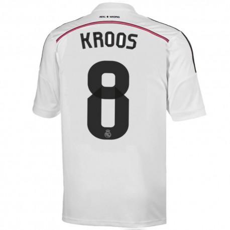 Real Madrid CF Home football shirt 2014/15 Kroos 8 - Adidas
