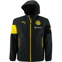 BVB Borussia Dortmund training rain jacket 2014/15 black - Puma