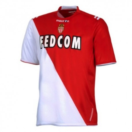 As Monaco Soccer Jersey 2010/11 Home by Macron