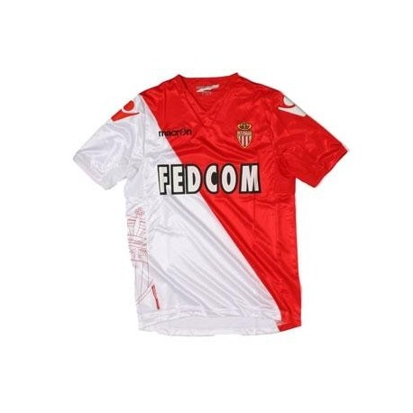 As Monaco Soccer Jersey 2011/12 Home by Macron