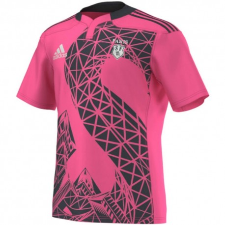 Stade Francais Away rugby jersey 2014/16 - Adidas