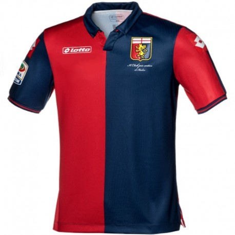 Genoa CFC Home football shirt 2014/15 - Lotto