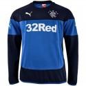 Glasgow Rangers training sweat top 2014/15 navy/blue - Puma