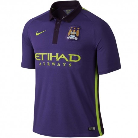 Manchester City Coupe-Vent Authentic Bleu