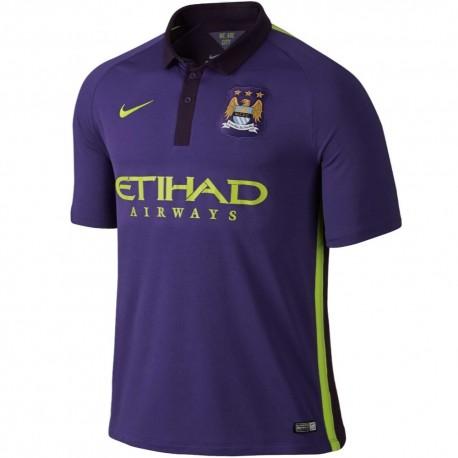 Manchester City Coupe-Vent Authentic Bleu