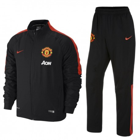 manchester united fc pr sentation trainingsanzug 2014 15. Black Bedroom Furniture Sets. Home Design Ideas