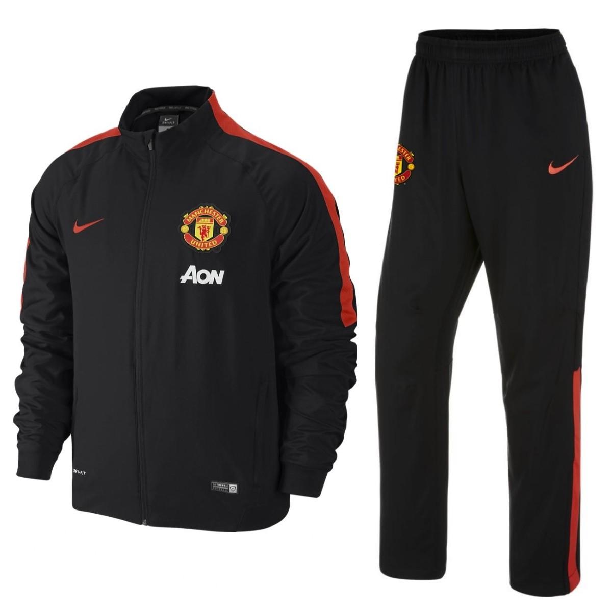 Manchester United FC Präsentation Trainingsanzug 2014/15 ...