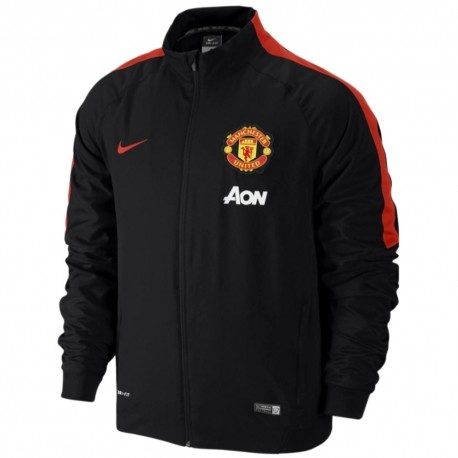 Manchester United FC black presentation jacket 2014/15 - Nike