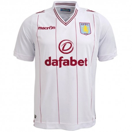 Aston Villa Away Football Jersey 2014/15 - Macron